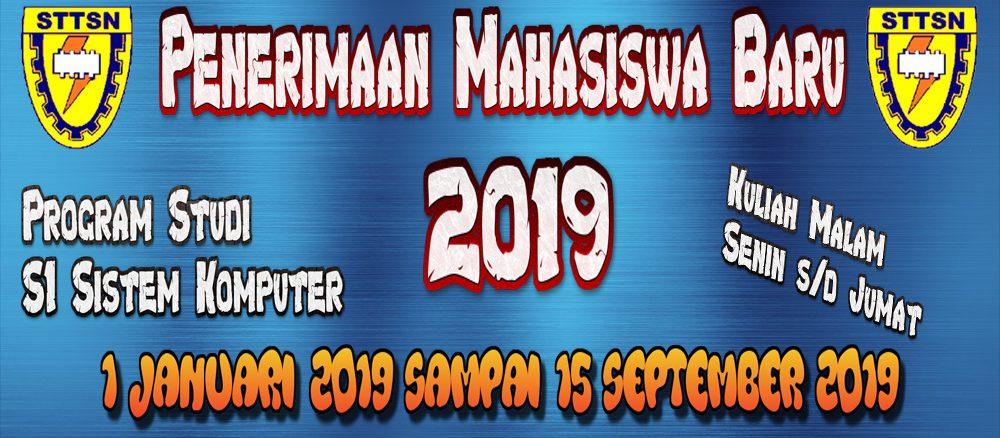 peenrimaan mhs 2019